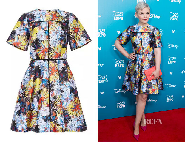 Ginnifer Goodwin's Suno Firework Printed Dress