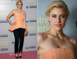 Greta Gerwig In Hellessy - 'Mistress America' London Photocall