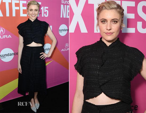 Greta Gerwig In Proenza Schouler - 'Mistress America' Sundance NEXT FEST Premiere