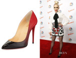 Gwen Stefani's Christian Louboutin Pigalle Follies Degrade Pumps