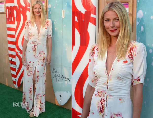 Gwyneth Paltrow - The Hamptons Paddle & Party for Pink 2015