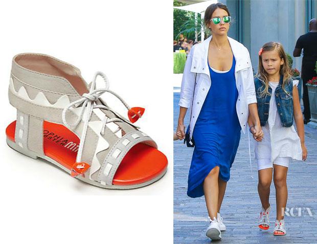 Honor Warren's Sophia Webster 'Riko Zig-Zag' Sandals