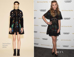 Imogen Poots In Valentino - 'She's Funny That Way' LA Premiere