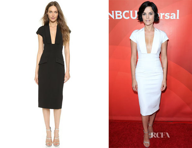 Jaimie Alexander's Cushnie et Ochs Flap Edge Dress