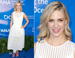 January Jones In Maje - 8th Annual Oceana SeaChange Summer Party