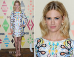 January Jones In Peter Pilotto - 2015 Summer TCA Tour FOX All-Star Party