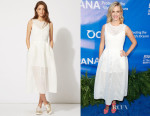 January Jones' Maje 'Rire' Sleeveless Dress