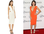 Jenna Dewan-Tatum's Solace London 'Margote' Knee Length Dress