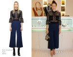 Jessica Biel In Self-Portrait – Bareitall + Bare AW15 Launch Event Fall 2015
