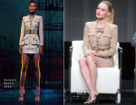 Kate Bosworth In Balmain - 'The Art of More' 2015 Summer TCA Tour Panel