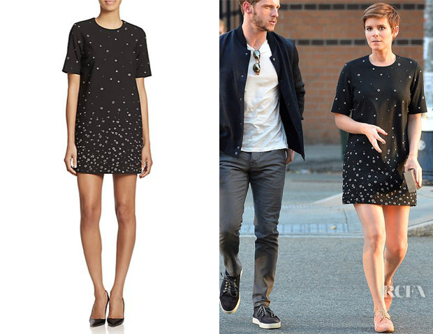 Kate Mara's Elizabeth and James 'Karen' Grommet Shift Dress