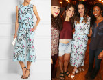 Katy Perry's Elizabeth and James Leaf Print Terri Top  & Elizabeth and James Leaf Print Trenton Culottes
