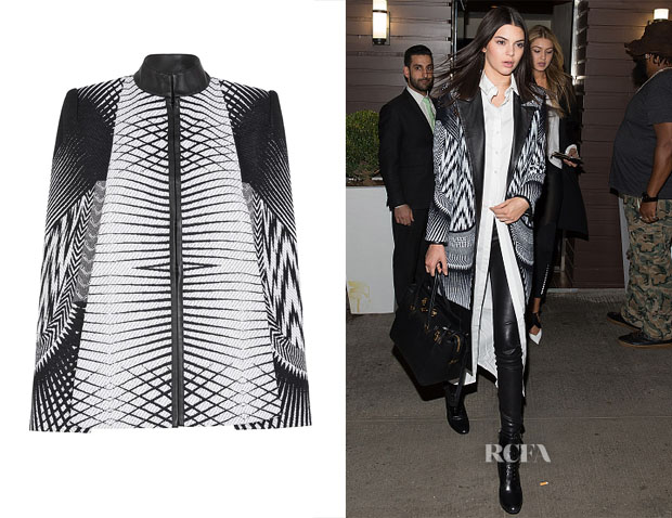 Kendall Jenner's Sass & Bide Art of Rebellion Capelet