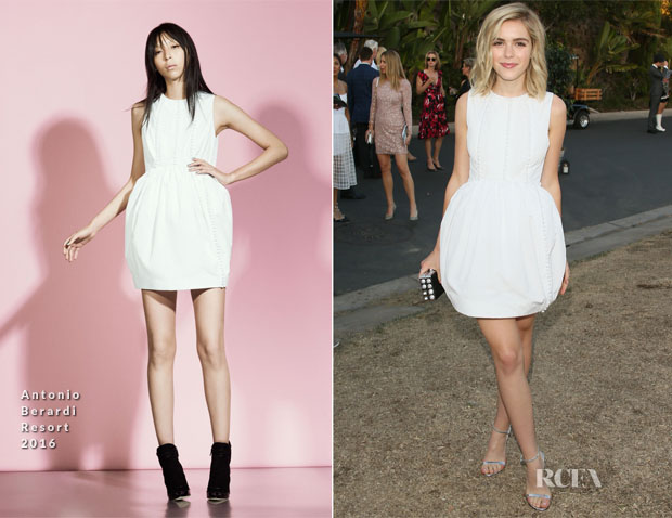 Kiernan Shipka In Antonio Berardi -  8th Annual Oceana SeaChange Summer Party