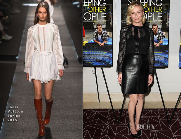 Kirsten Dunst In Louis Vuitton - 'Sleeping With Other People' LA Screening