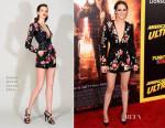 Kristen Stewart In Zuhair Murad - 'American Ultra' LA Premiere