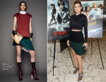 Lake Bell In Marni - 'No Escape' New York Screening