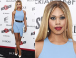 Laverne Cox In Elizabeth and James - 'Ricki And The Flash' New York Premiere