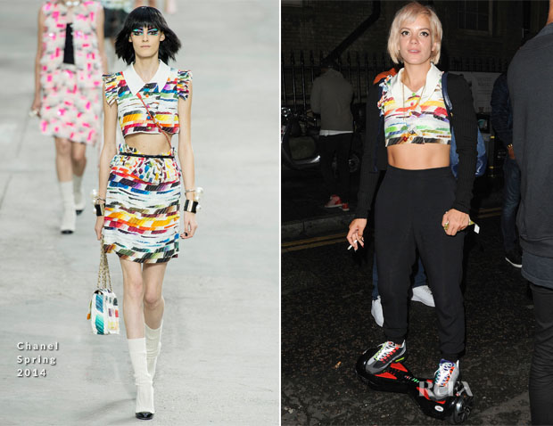 Lily Allen In Chanel - XOYO