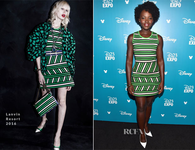 Lupita Nyongo In Lanvin - D23 EXPO 2015