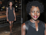 Lupita Nyong'o In Louis Vuitton - 'Informed Consent' Opening Night After Party