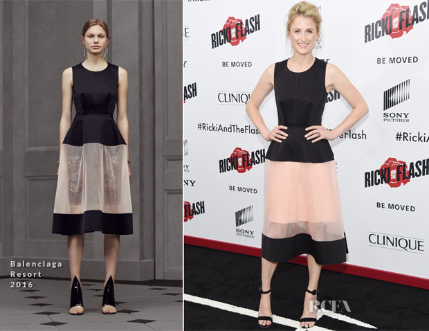 Mamie Gumme In Balenciaga - 'Ricki And The Flash' New York Premiere