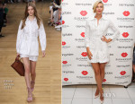 Maria Sharapova In Chloé - Sugarpova Pop-Up Shop At Bloomingdale's
