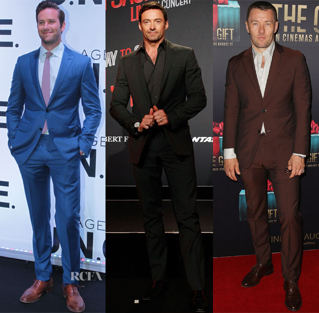 Menswear Red Carpet Roundup 26 august