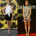 Olivia Cooke In Emilio Pucci & Marc Jacobs - 68th Locarno Film Festival
