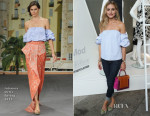 Olivia Palermo In Johanna Ortiz - StyleWatch x Revolve Fall Fashion Party