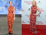 Patricia Clarkson In Naeem Khan - 'Learning To Drive' New York Premiere