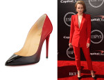 Rachel McAdams' Christian Louboutin 'Pigalle Follies' Degrade Pumps