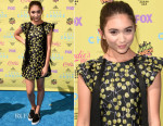 Rowan Blanchard In Giamba - 2015 Teen Choice Awards