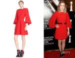 Saoirse Ronan's Alexander McQueen Kimono Sleeve Dress