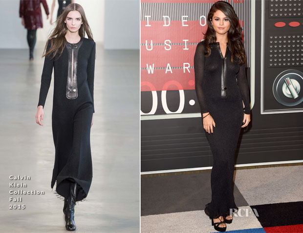 Selena Gomez In Calvin Klein Collection - 2015 MTV Video Music Awards #VMAs