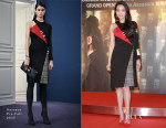 Shu Qi In Versace - 'The Assassin'  Hong Kong Photocall