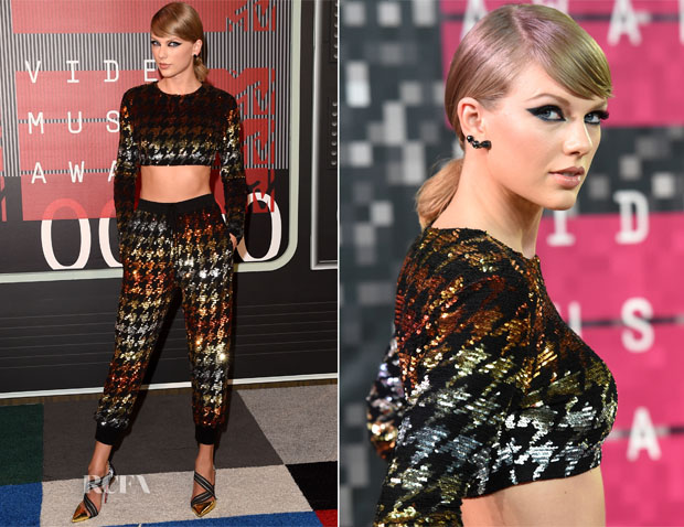 Taylor Swift In Ashish - 2015 MTV Video Music Awards #VMAs