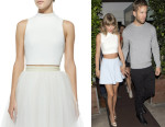 Taylor Swift's Elizabeth and James 'Avita' Cropped Top