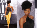Teyonah Parris In Keep Sake The Label & John Paul Ataker - 'Straight Outta Compton' LA Premiere