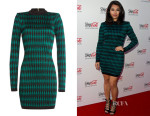 Vanessa White's Balmain Mini Dress