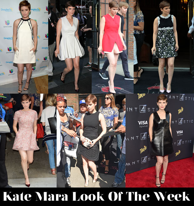 Which Kate Mara Look Was Your Favourite Of The Week