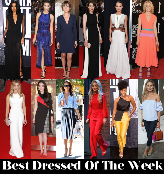 Who Was Your Best Dressed This Week 15 August