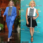 Who Wore Peter Pilotto Better...Cate Blanchett or Jane Krakowski?