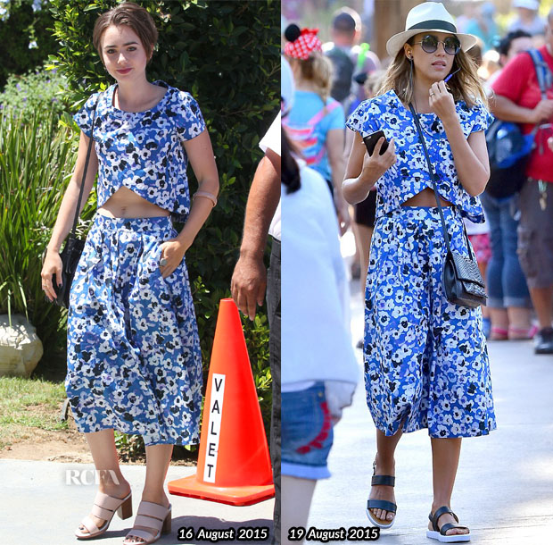 Who Wore Sami & Lavi Better Lily Collins or Jessica Alba