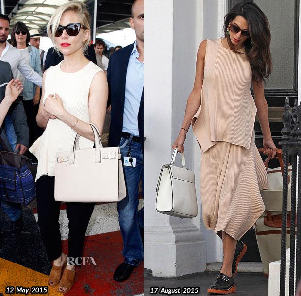 Who Wore Stella McCartney Better Sienna Miller or Amal Clooney
