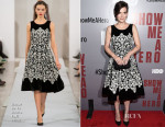 Winona Ryder In Oscar de la Renta - 'Show Me A Hero' New York Screening