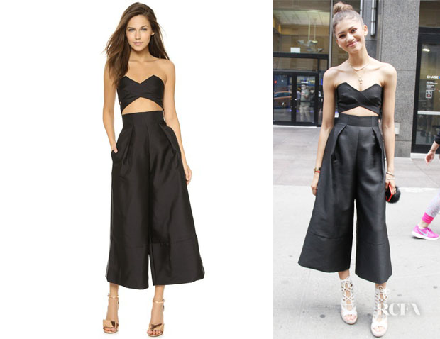 Zendaya Coleman's Solace London Divine Jumpsuit