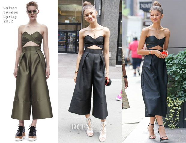 Zendaya Coleman In Solace London - Out In New York City