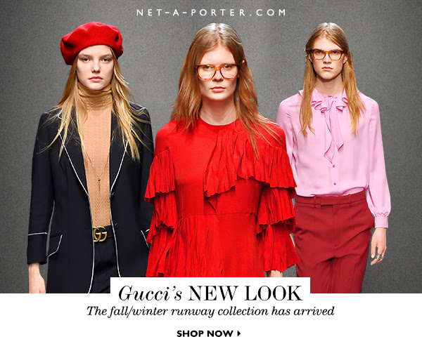 Shop Gucci's Fall Runway Collection from Net-A-Porter