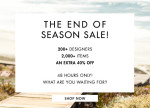 theOutnet End Of Season Sale